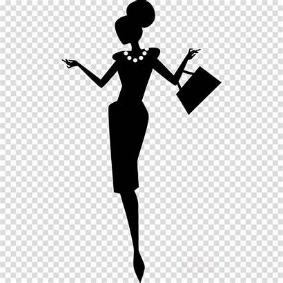 Silhouette Clipart Woman Transparent Clip Library Royalty