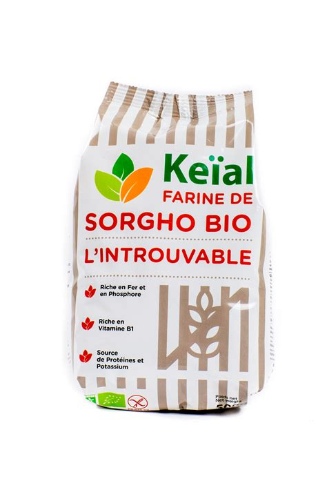 comment cuisiner le quinoa farine de sorgho bio 500g keïal le plaisir du bio sans gluten