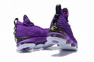 2017 Nike LeBron 15 Purple/Black-White For Sale