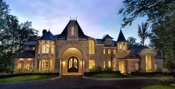 luxurious home plans showcase beautiful country chateau luxury house plans
