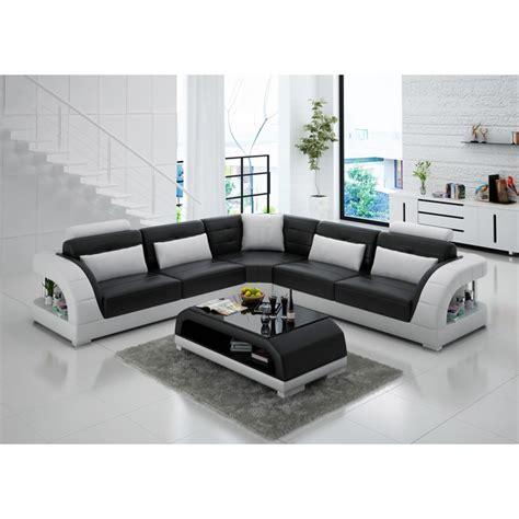 grand canapé d angle en tissu grand canapé d 39 angle en cuir enzo pop design fr