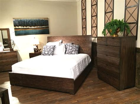 Urban Transitional Solid Wood Bedroom Collection Co91