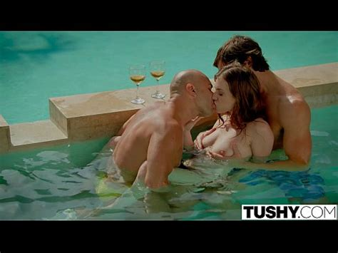 Tushy First Double Penetration For Stunning Anya Olsen Xvideos