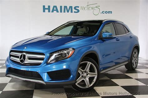 2015 Used Mercedes-benz Gla 4matic 4dr Gla 250 At Haims