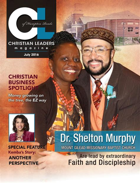 christian leaders magazine  tbdesigns issuu