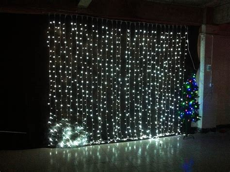curtain outdoor christmas lights 3mx3m 360led waterfall led string outdoor christmas