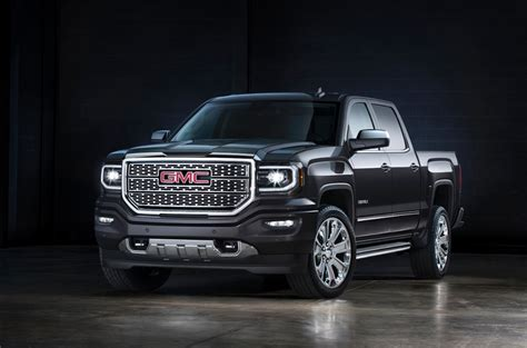 2016 GMC SIerra Denali 1500 Named Pickup Truck of The Year