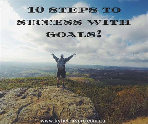 10 Steps To Success With Goals