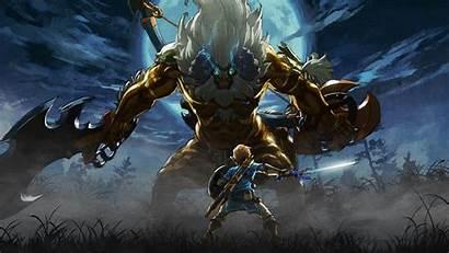 Breath Zelda Wild Legend Wallpapers Gaming Trials