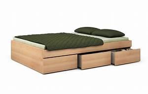 Hülsta Bett Buche : einzelbett mit bettkasten buche ~ Indierocktalk.com Haus und Dekorationen