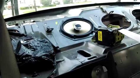ford taurus ses speaker removal  install youtube