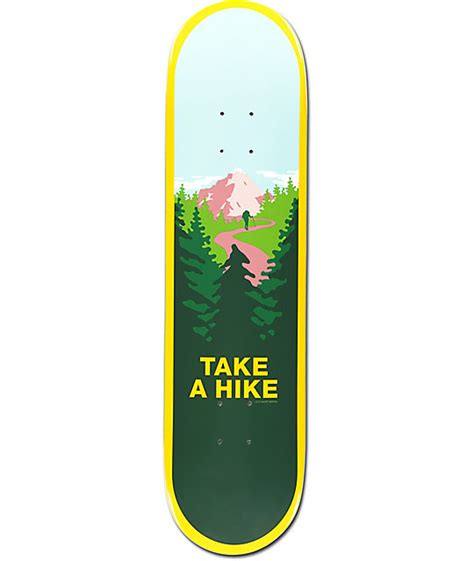 skate mental decks 80 skate mental take a hike 8 0 quot skateboard deck zumiez