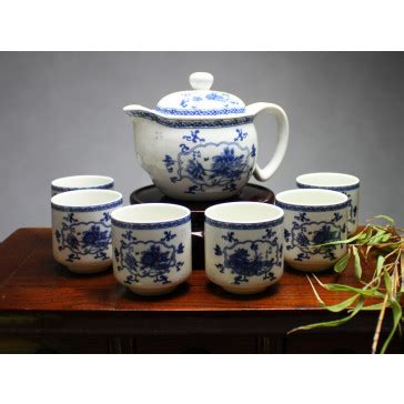 chinesisches geschirr reiskorn chinesisches teeservice aus reiskorn porzellan porzellan quot blick in den garten quot xishi de