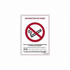 Panneau Interdiction De Fumer : panneau de signalisation interdiction de fumer ~ Melissatoandfro.com Idées de Décoration