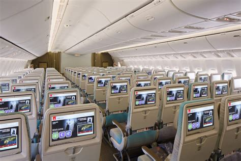 emirates airline class cabin emirates airlines boeing 777 brand new look and lay out