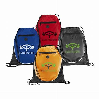Promotional Drawstring Bags Drawstrings Sports Sporty Printed