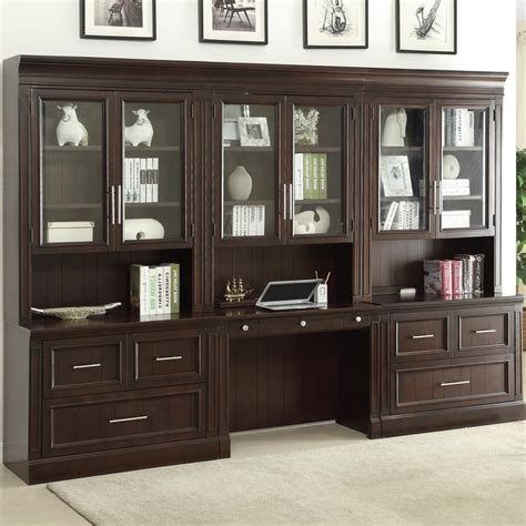 wall unit with desk house stanford library wall unit w lateral file desk