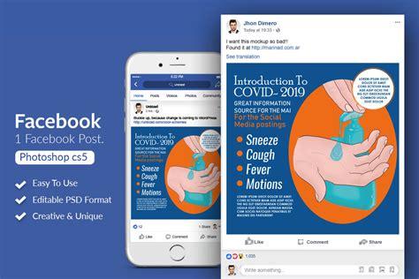 facebook mobile mockup psd  mockups psd template