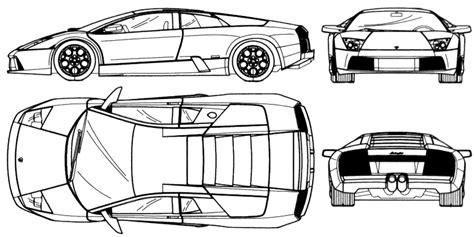 car blueprints chertezhi avtomobiley lamborghini