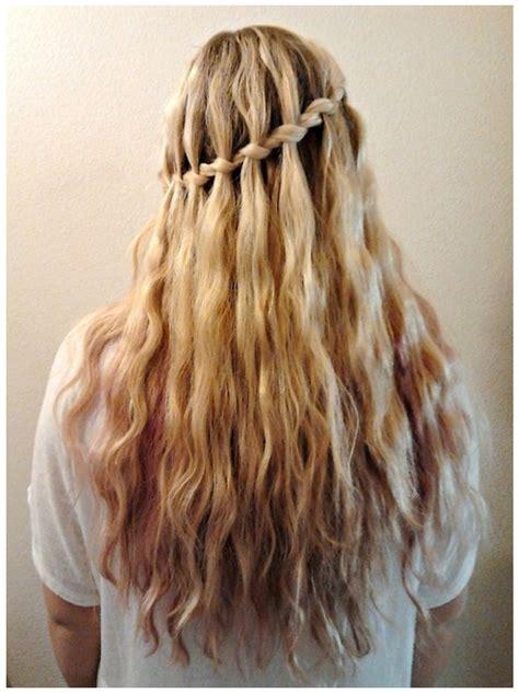 waterfall braid pixie black hairstyle  ideas