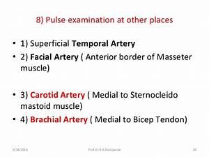 Pulse examination By Prof.Dr.Deshpande