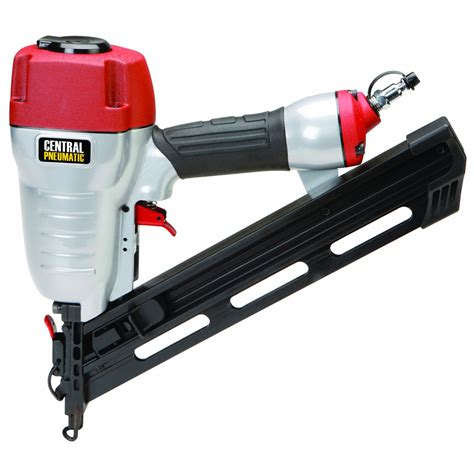 harbor freight tools floor nailer 34 176 angle finish air nailer