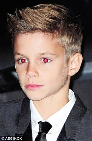 as romeo beckham becomes a isn t he just like his daily mail
