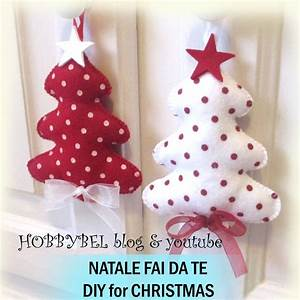 TUTORIAL: DECORAZIONI DI NATALE FAI DA TE DIY CHRISTMAS ORNAMENTS HOBBYBEL creatività
