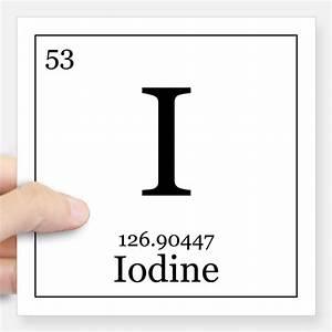 Iodine Periodic Table Gifts & Merchandise | Iodine ...