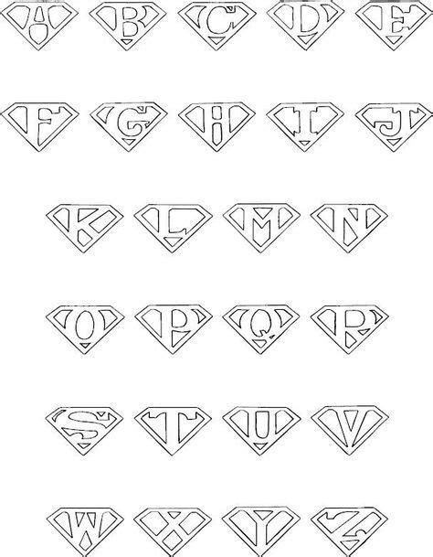 colorbook superman alphabet    images