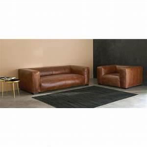 Maisons Du Monde Köln : 3 4 sitzer ledersofa braun divano marrone divani da soggiorno e soggiorni in legno ~ Watch28wear.com Haus und Dekorationen