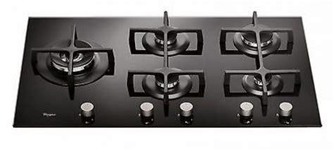 offerte piani cottura 5 fuochi whirlpool goa9523nb piano cottura 90 cm vetro temperato