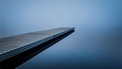 Dock Water Mist Nature Desktop Wallpapers Wallup