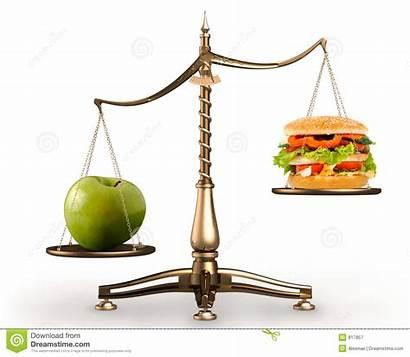 Scale Scales Apple Hamburger Conceptual Hi Res