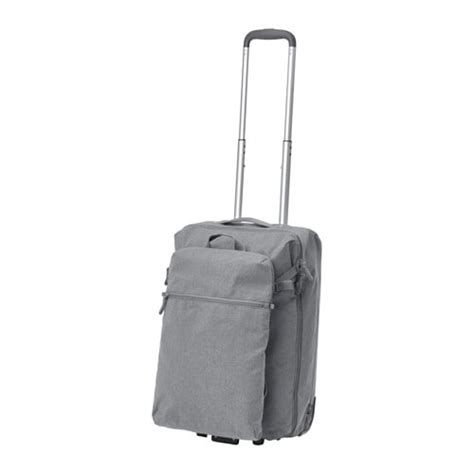 cabin bags on wheels f 214 renkla cabin bag on wheels and backpack ikea