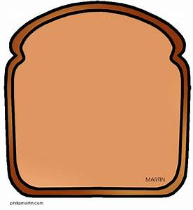 Slice of bread clipart black and white free 2 - Cliparting.com