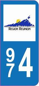 Ou Trouver Des Autocollants Pour Plaque D Immatriculation : sticker immatriculation 974 la r union autocollants stickers ~ Gottalentnigeria.com Avis de Voitures