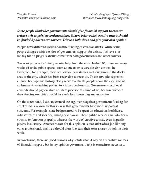 Ielts writing sample essays band 9: Essay Samples - IELTS