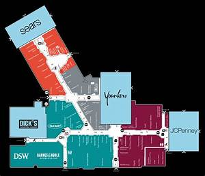 Mall Map Of Miller Hill Mall  A Simon Mall