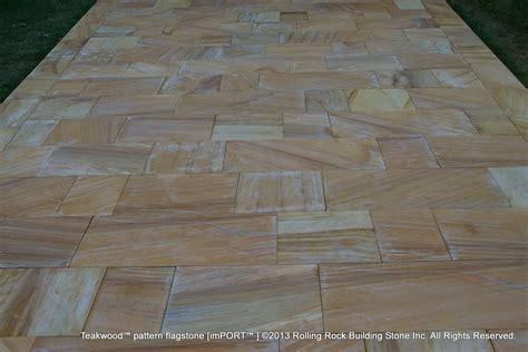 flagstone pattern teakwood pattern flagstone rolling rock building stone inc