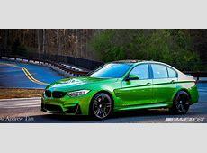HULK SMASH First BMW Individual Java Green F80 M3 55