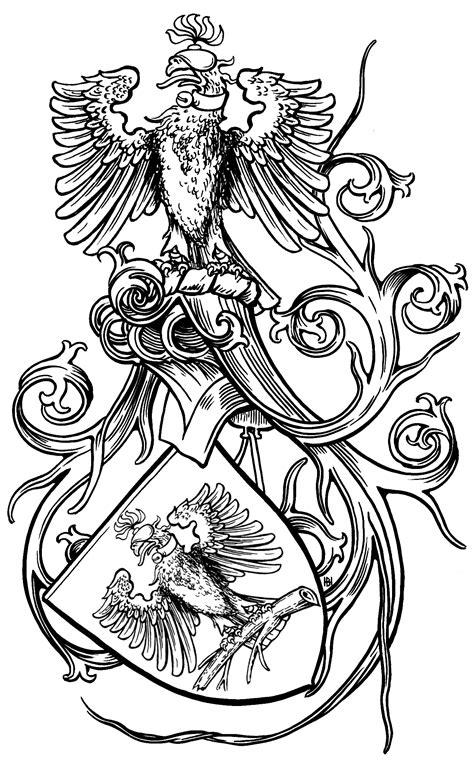 glas bernhardt  ravensburg wappen auf papier