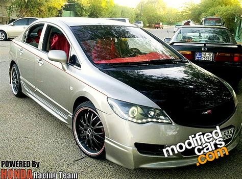 Without wasting any more time, let's take a look at a small comparison between the original. Modified Honda Civic 2007 - AUTOMOTIVE COMMUNITY