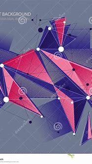 Abstract Background, 3D Abstract Lines Vector Illustration ...