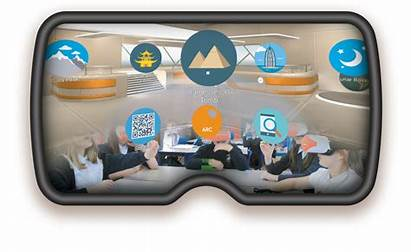 Virtual Reality Interface Classvr Classroom Technology Headset