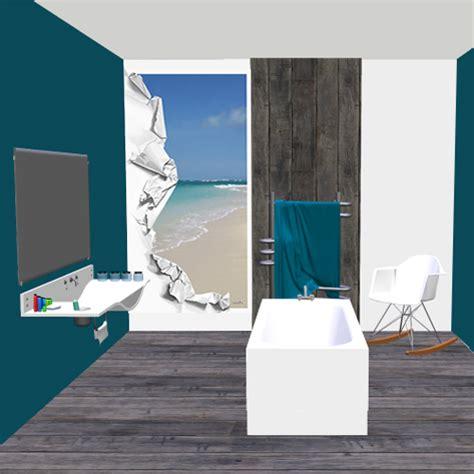 d 233 co murale piscine spa salle de bain d 233 chirure sur plage