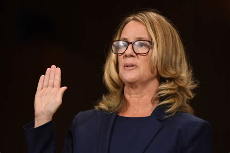 Christine Blasey Ford's Lawyers Say She Hasn't Been