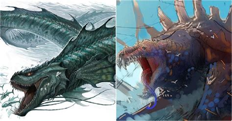 Dungeons & Dragons: 10 Creatures You Didn't Realize Were Actually Dragons