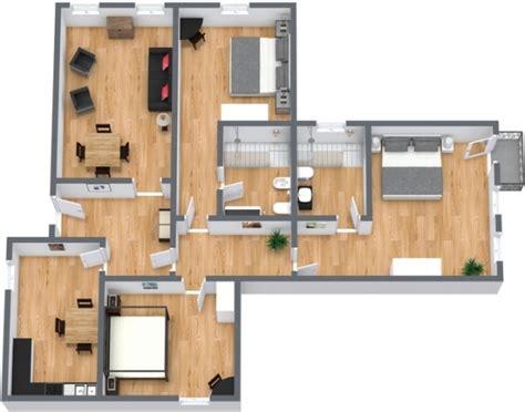 Planimetria Da Letto - moderno appartamento vacanze a venezia per 6 persone