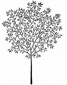 Ft olive tree wall stencil reusable easy interior